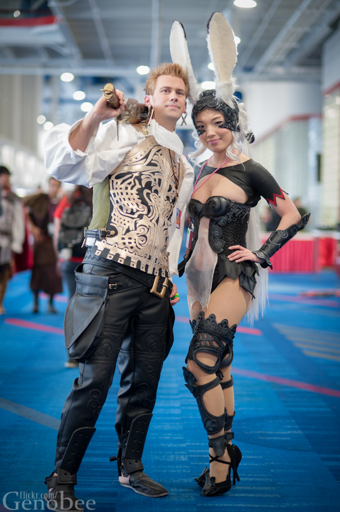 Balthier and Fran from FFXII